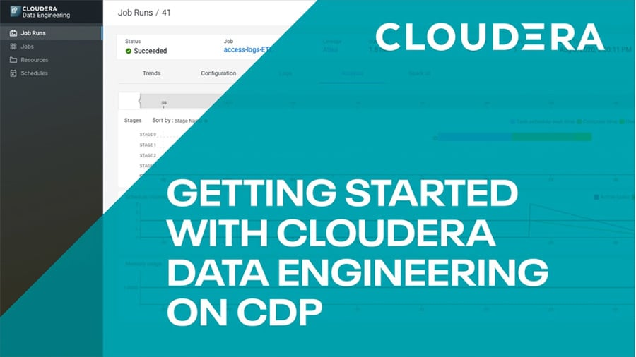Cloudera Data Engineering overview video